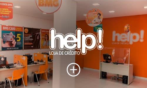 imagem e logo help! loja do crédito cliente reczero
